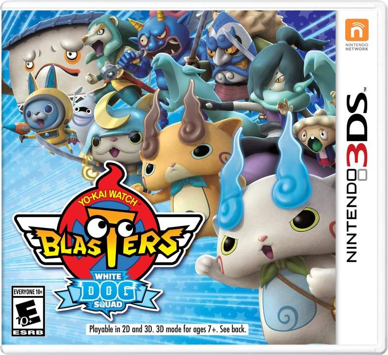Nintendo Yo-Kai Watch Blasters: White Dog Squad [3DS] 3DS246