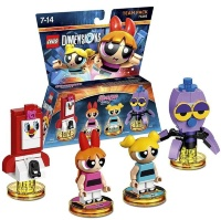 LEGO Dimensions Team Pack (71346) - The PowerPuff Girls (PRG Smartphone, Blossom, Bubbles, Octi)