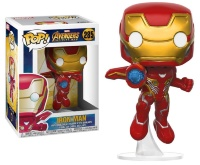 Фигурка Funko POP! Bobble: Marvel: Avengers Infinity War: Iron Man (26463)