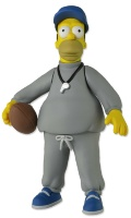 "Фигурка ""The Simpsons 5"" Series 1 - Coach Homer (Neca)"