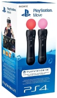 PS4 Комплект PS Move Black 2 шт (CECH-ZCM1E)