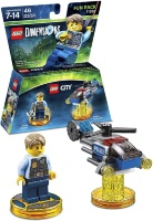 LEGO Dimensions Fun Pack (71266) - Lego City (Chase McCain, Police Helicopter)