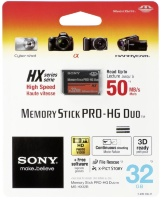 Карта памяти Sony Memory Stick Pro Duo 32Gb для PSP (Original)