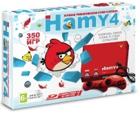 HAMY 4 (8bit / 16bit) Angry Birds Red (350 игр)