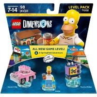 LEGO Dimensions Level Pack (71202) - The Simpsons