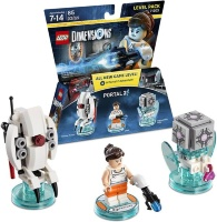 LEGO Dimensions Level Pack (71203) - Portal 2 (Sentry Turret, Chell, Companion Cube)