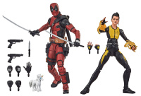 Фигурки Hasbro Marvel Legends Deadpool and Negasonic Teenage Warhead 15см E9288