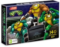 16 bit Приставка Sega Super Drive BattleToads (140 игр)