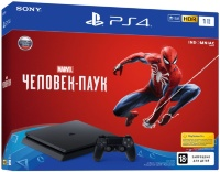 Sony PlayStation 4 Slim (1Tb) + Marvel Человек-Паук