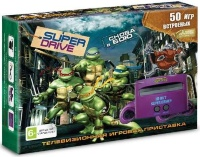 16 bit Приставка Sega Super Drive Turtles (50 игр)