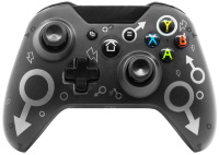 Беспроводной геймпад Controller Wireless N-1 2.4G (Black) (Xbox One/PS3/PC)