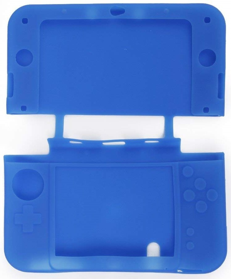 Купить Силиконовый чехол для New Nintendo 3DS XL (синий)   PlayGames