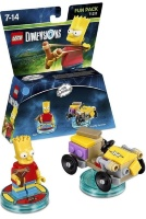 LEGO Dimensions Fun Pack (71211) - The Simpsons (Bart, Gravity Sprinter)