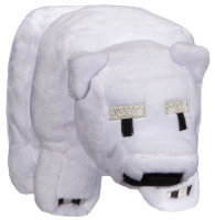 Мягкая игрушка Jinx Minecraft Small Baby Polar Bear 18 см