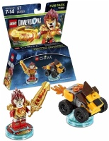 LEGO Dimensions Fun Pack (71222) - Lego Legend of Chima (Laval, Mighty Lion Rider)