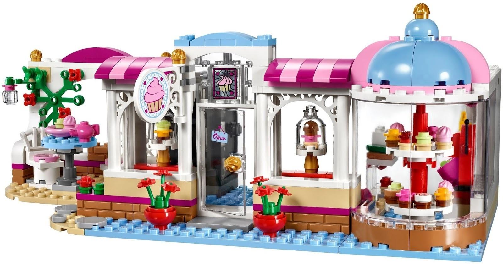Лего френдс картинка пекарня