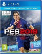 PES 2018 (Pro Evolution Soccer 2018) [PS4]