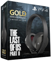 Гарнитура Sony PlayStation Gold Wireless Headset Limited Edition Одни из нас. Часть II