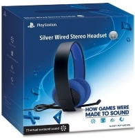 Гарнитура проводная Sony Silver Wired Stereo Hesdset 7.1