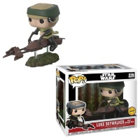 Фигурка Funko POP! Bobble: Star Wars: Speeder Bike w/ Leia 23253