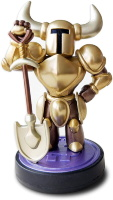 Фигурка Amiibo - Shovel Knight Treasure Trove: Gold (коллекция Shovel Knight.)