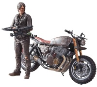 Набор The Walking Dead TV Deluxe. Daryl Dixon with Motorbike 13 см
