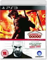 Tom Clancy's Splinter Cell Double Agent + Rainbow Six Vegas [PS3]