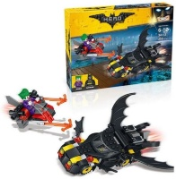 Конструктор Lele Batman Movie Series 34113 Бэтмен против Джокера