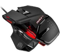 Мышь Mad Catz R.A.T.4 Gaming Mouse (Black/Red)