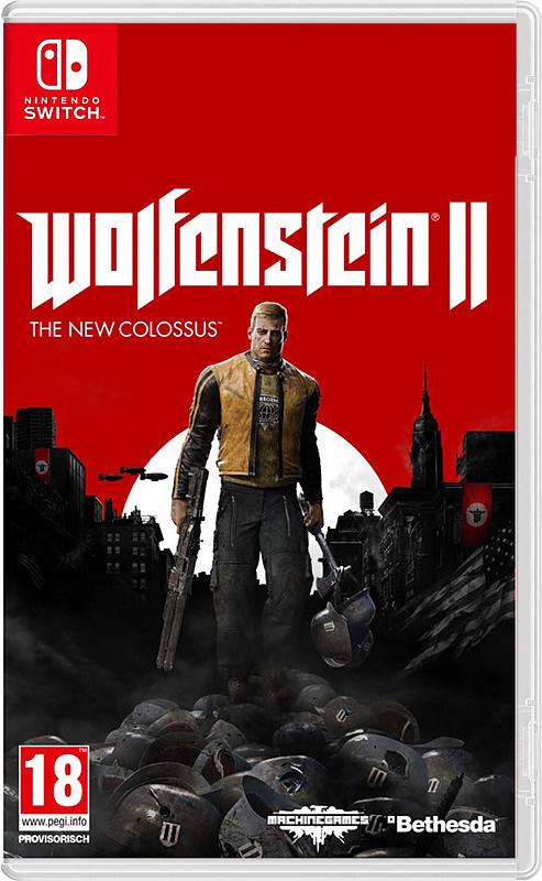 Bethesda Wolfenstein II: The New Colossus [Switch]