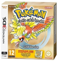 Pokemon Gold (Код на загрузку игры) [3DS]